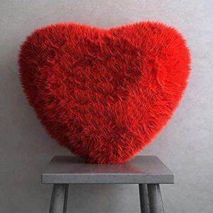 Heart Shape Cushion Red